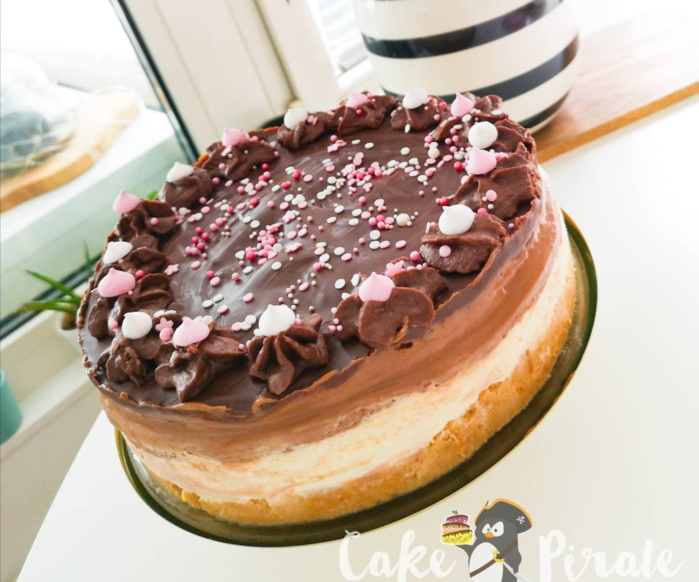 No Bake-Nutella-Cheesecake