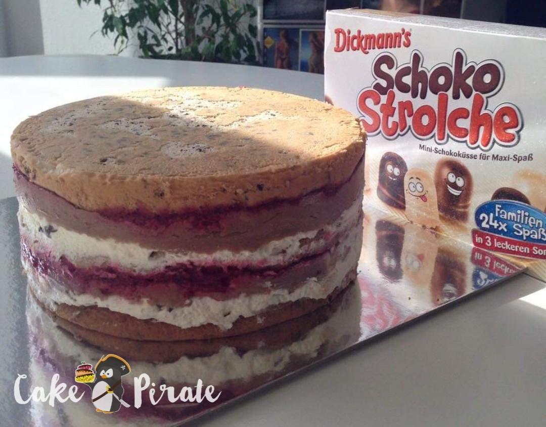 Schoko-Dickmanns Himbeer Torte