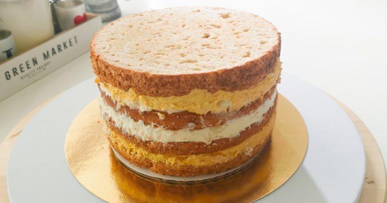 Himbeer-Kokos-Keks-Vanille-Torte