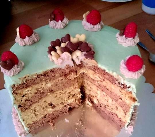 My big fat Greek Cake