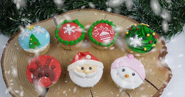 Weihnachts-Cupcake-Kurs in München